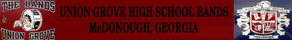 UGHSBand Banner2